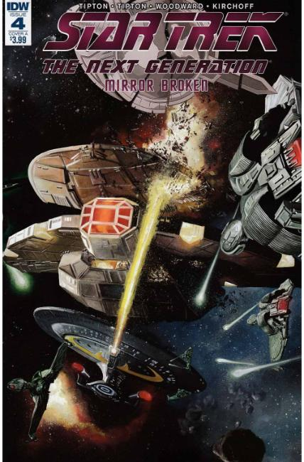 Star Trek TNG Mirror Broken #4 Cover A [IDW Comic] THUMBNAIL