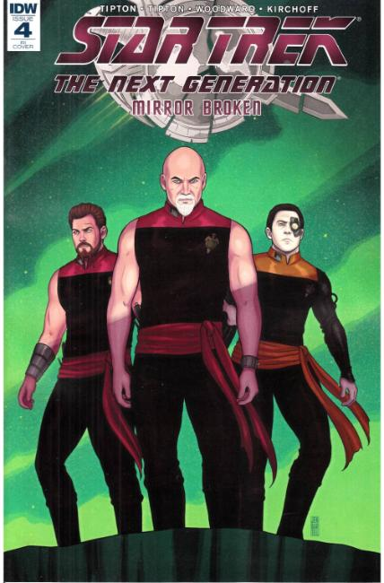 Star Trek TNG Mirror Broken #4 Cover RI [IDW Comic] THUMBNAIL