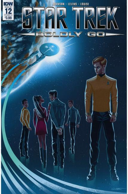 Star Trek Boldly Go #12 Cover A [IDW Comic] LARGE