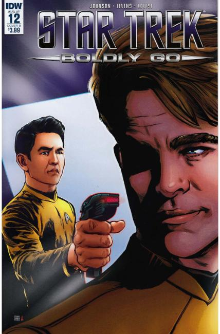 Star Trek Boldly Go #12 Cover B [IDW Comic]