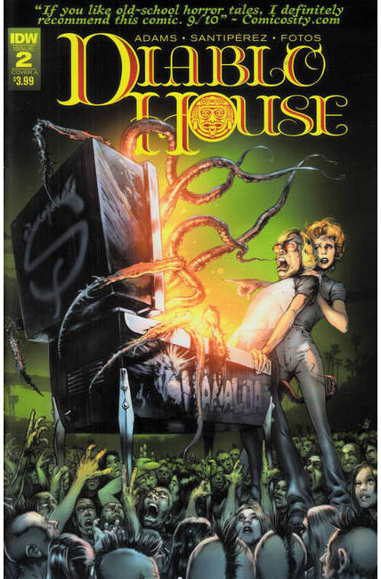 Diablo House #2 Cover A [IDW Comic] THUMBNAIL