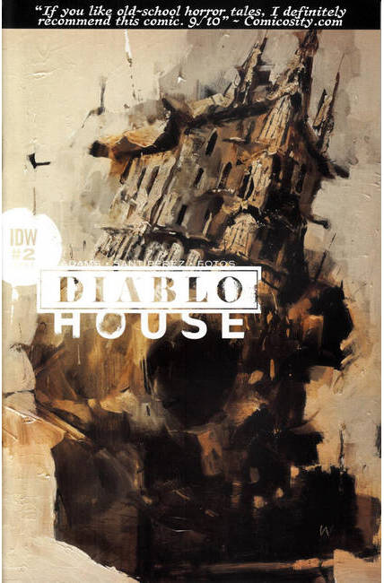 Diablo House #2 Cover B [IDW Comic] THUMBNAIL