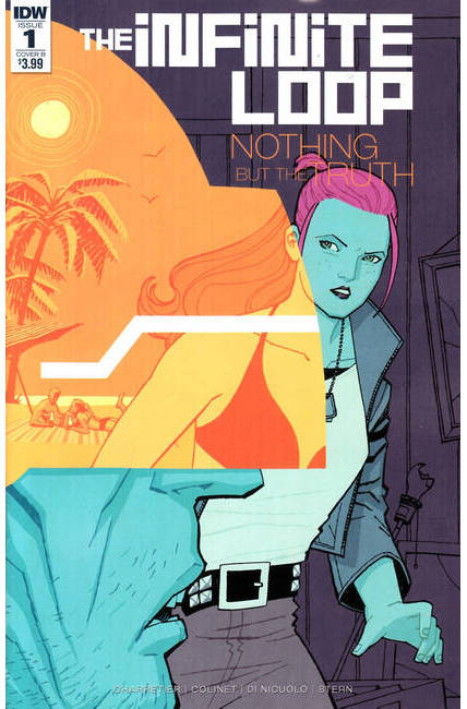 Infinite Loop Nothing But the Truth #1 Cover B [IDW Comic]_THUMBNAIL