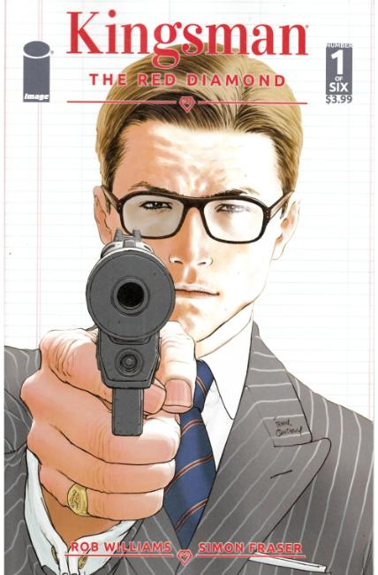 Kingsman the Red Diamond #1 Cover A [Image Comic]