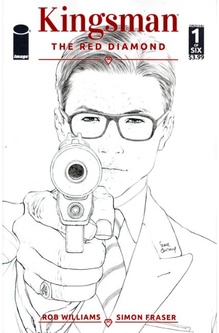 Kingsman the Red Diamond #1 Cover B [Image Comic]