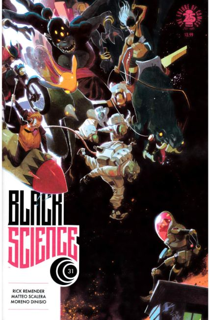 Black Science #31 Cover A [Image Comic] THUMBNAIL