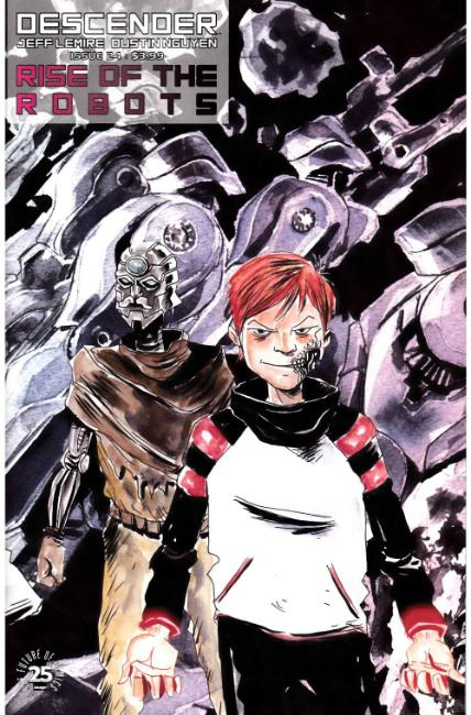 Descender #24 Cover B [Image Comic] THUMBNAIL