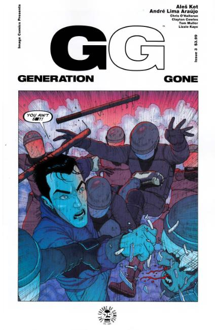 Generation Gone #3 [Image Comic] THUMBNAIL