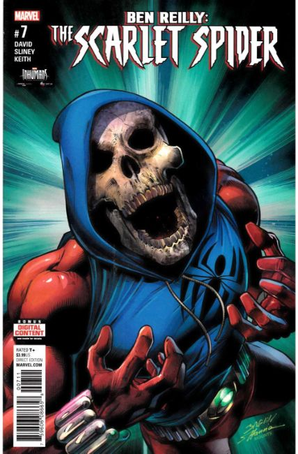 Ben Reilly Scarlet Spider #7 [Marvel Comic]