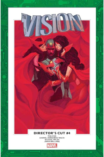 Vision Directors Cut #4 [Marvel Comic] THUMBNAIL