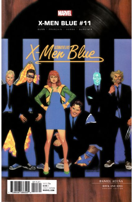 X-Men Blue #11 Acuna Rock N Roll Variant Cover [Marvel Comic]_THUMBNAIL
