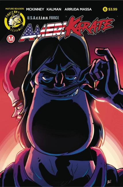 Amerikarate #6 Cover A [Action Lab Comic]_LARGE