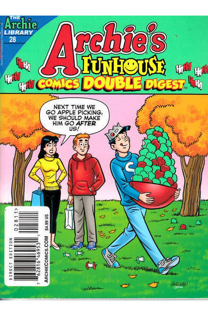 Archie Funhouse Comics Double Digest #28 Near Mint (9.2) [Archie Comic] LARGE
