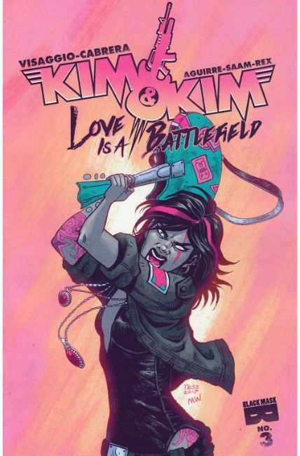 Kim and Kim Love Is a Battlefield #3 [Black Mask Comic] THUMBNAIL