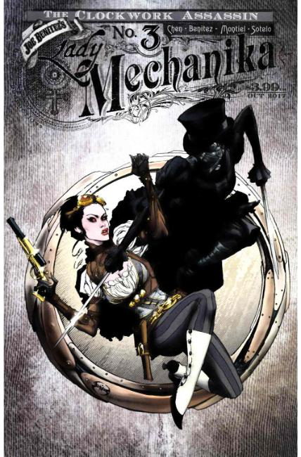 Lady Mechanika Clockwork Assassin #3 Cover B [Benitez Comic] LARGE