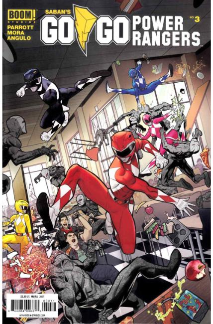 Go Go Power Rangers #3 Cover A [Boom Comic] THUMBNAIL