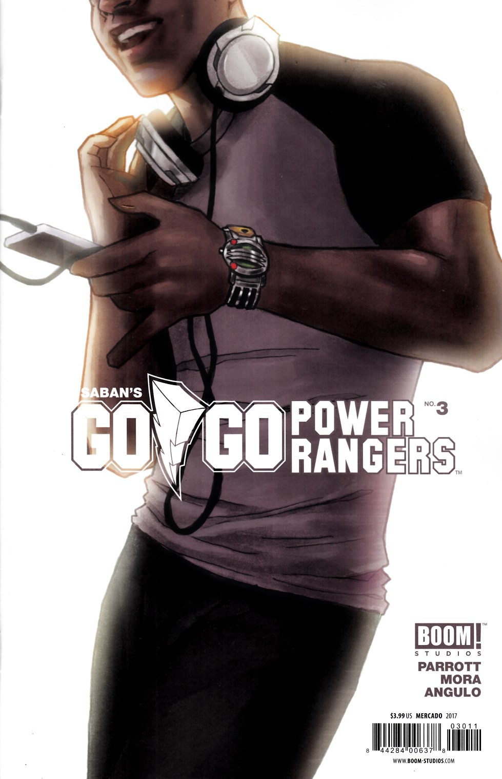Go Go Power Rangers #3 Cover B [Boom Comic] THUMBNAIL