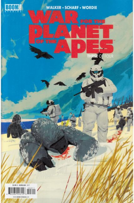 War For Planet of the Apes #3 [Boom Comic] THUMBNAIL