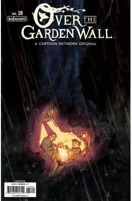 Over Garden Wall Ongoing #18 Subscription Cover [Boom Comic] THUMBNAIL