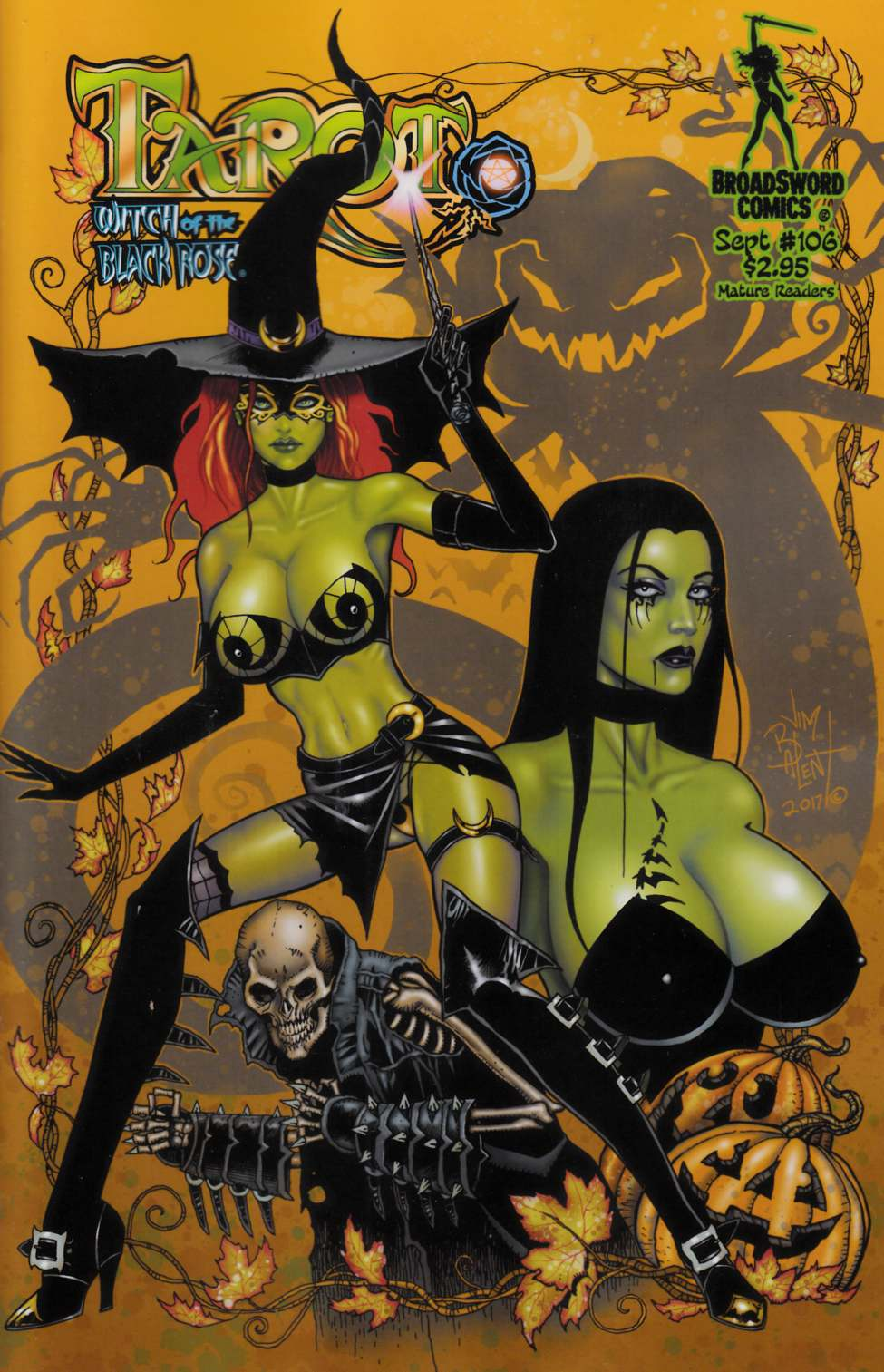 Tarot Witch of the Black Rose #106 Cover A [Broadsword Comic]_LARGE