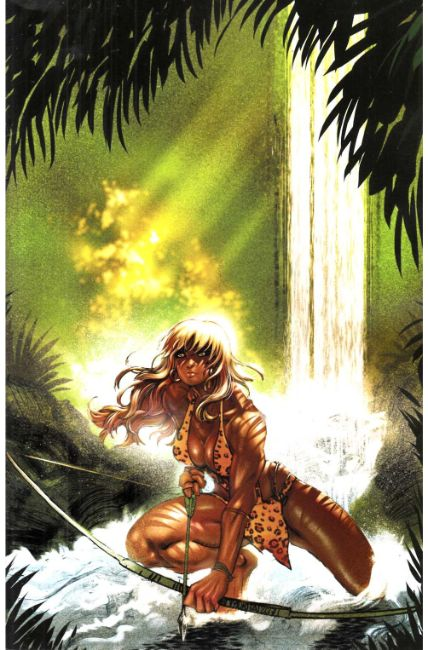 Sheena #1 Cover F- Moritat Virgin Incentive [Dynamite Comic] THUMBNAIL