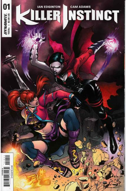 Killer Instinct #1 Cover A [Dynamite Comic] THUMBNAIL