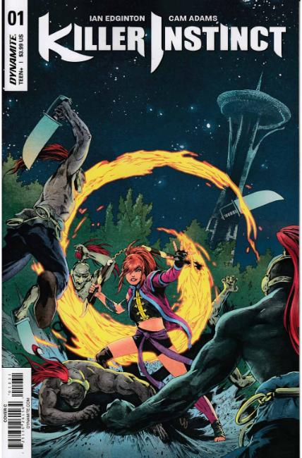 Killer Instinct #1 Cover C [Dynamite Comic] THUMBNAIL
