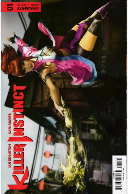 Killer Instinct #1 Cover D [Dynamite Comic] THUMBNAIL