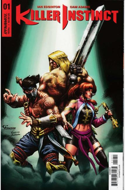 Killer Instinct #1 Cover E [Dynamite Comic] THUMBNAIL