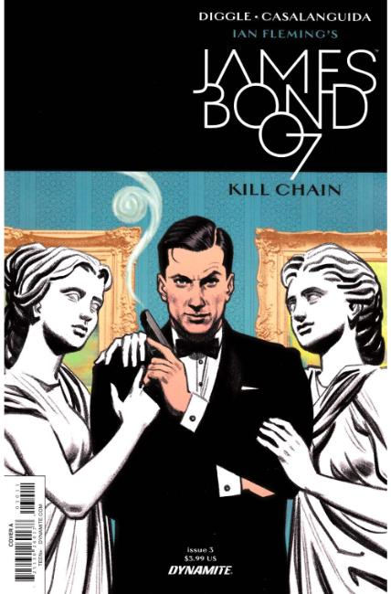 James Bond Kill Chain #3 Cover A [Dynamite Comic] THUMBNAIL