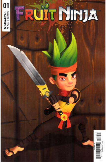 Fruit Ninja #1 Cover B [Dynamite Comic] THUMBNAIL
