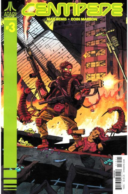 Centipede #3 Cover B [Dynamite Comic] LARGE
