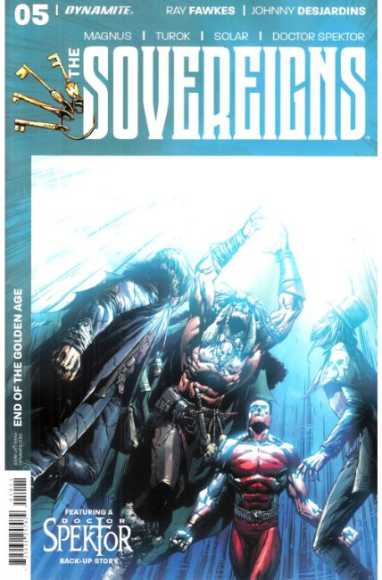 Sovereigns #5 Cover B [Dynamite Comic] THUMBNAIL