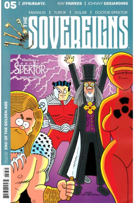 Sovereigns #5 Cover C [Dynamite Comic] THUMBNAIL