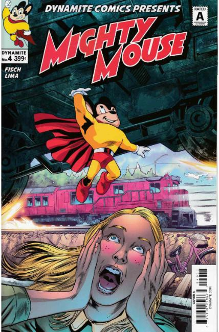 Mighty Mouse #4 Cover A [Dynamite Comic] THUMBNAIL