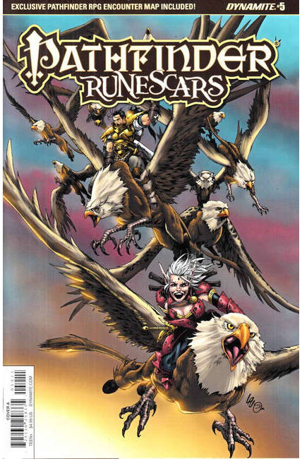 Pathfinder Runescars #5 Cover A [Dynamite Comic] THUMBNAIL