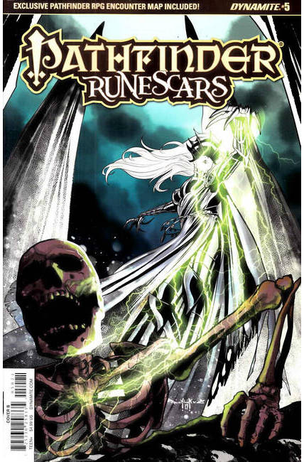 Pathfinder Runescars #5 Cover B [Dynamite Comic]_THUMBNAIL