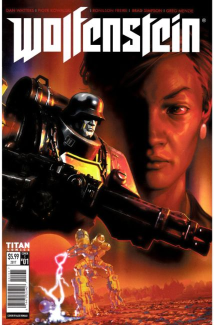 Wolfenstein #1 Cover C [Titan Comic] THUMBNAIL
