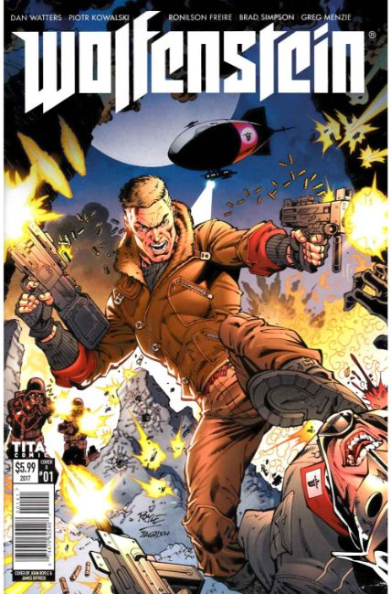Wolfenstein #1 Cover D [Titan Comic] THUMBNAIL
