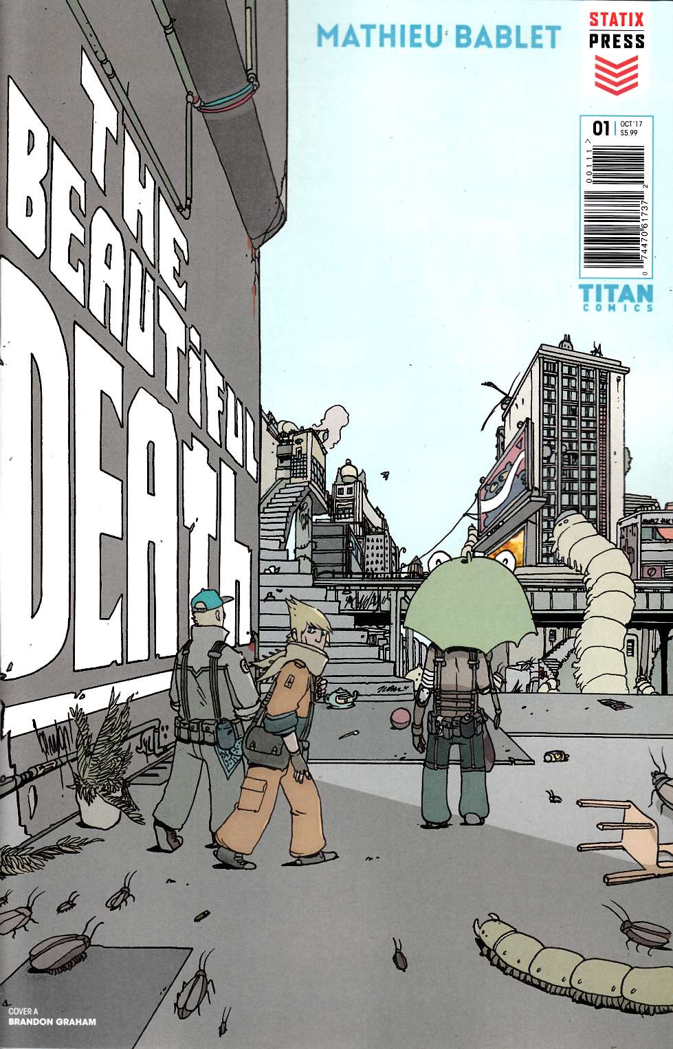 The Beautiful Death #1 Cover A [Titan Comic] THUMBNAIL
