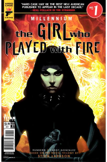 Millennium Girl Who Played With Fire #1 Cover A [Titan Comic] THUMBNAIL