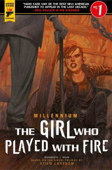 Millennium Girl Who Played With Fire #1 Cover B [Titan Comic] THUMBNAIL