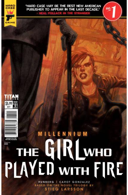 Millennium Girl Who Played With Fire #1 Cover C [Titan Comic]