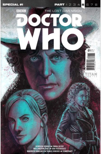 Doctor Who Lost Dimension Special #1 Cover A [Titan Comic]