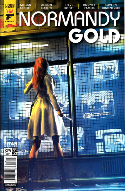 Normandy Gold #4 Cover A [Titan Comic] THUMBNAIL