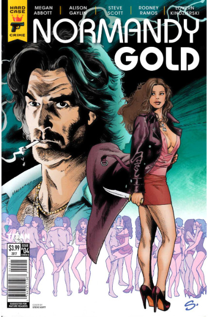 Normandy Gold #4 Cover B [Titan Comic] THUMBNAIL