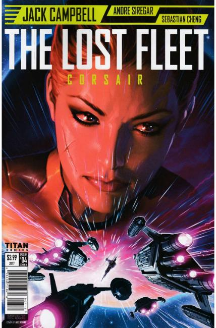 Lost Fleet Corsair #4 Cover A [Titan Comic]