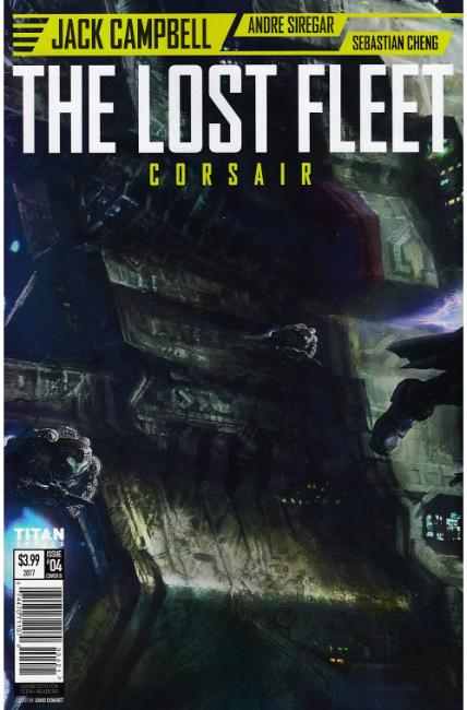 Lost Fleet Corsair #4 Cover B [Titan Comic]
