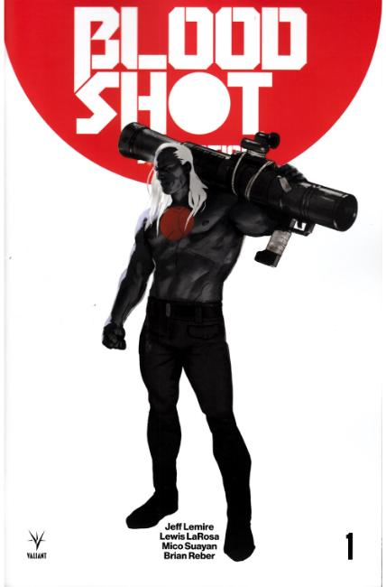 Bloodshot Salvation #1 Cover B [Valiant Comic]