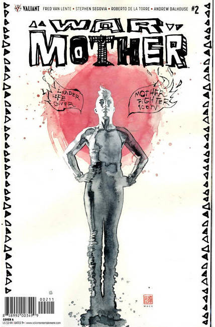 War Mother #2 Cover A [Valiant Comic] THUMBNAIL